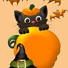 The Witches Cat  by LoneAngel