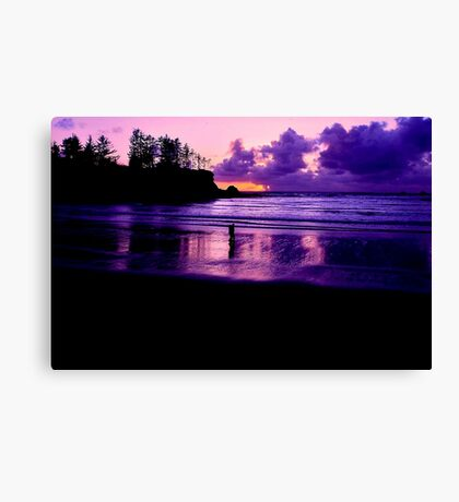 PURPLE PASSION... Canvas Print