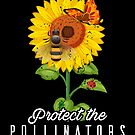 Cool Protect Pollinators Save the bees Sunflower von mjacobp