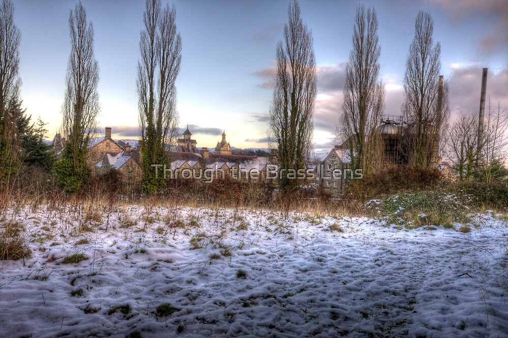 Asylum Snowscape by Through the Brass Lens
