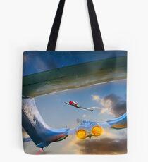 Avoiding Action Tote Bag