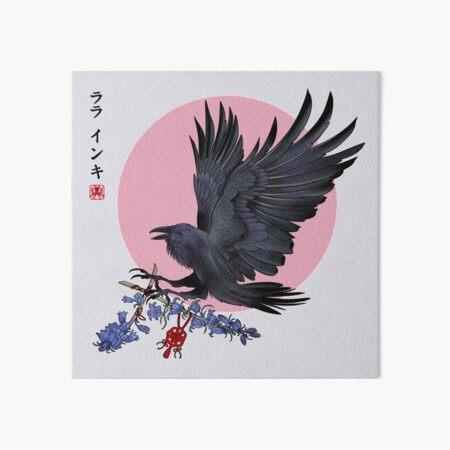 Karasu Art Board Print