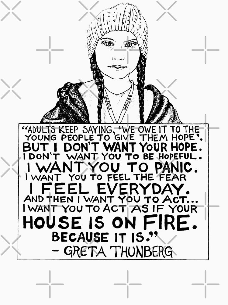 Greta Thunberg by Giftyshirt