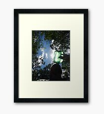 Canteen In The Bush Framed Print