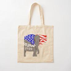 Trump Elephant Cotton Tote Bag