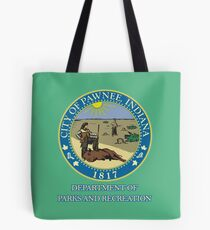 Pawnee Indiana Parks and Recreation Tote Bag