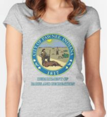 Pawnee Indiana Parks and Recreation Women's Fitted Scoop T-Shirt