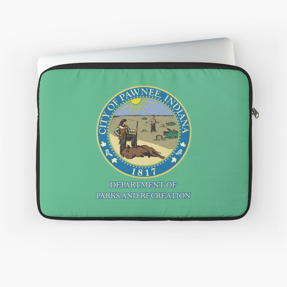 Pawnee Indiana Parks and Recreation Laptop Sleeve