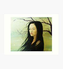 Sayuri  Art Print