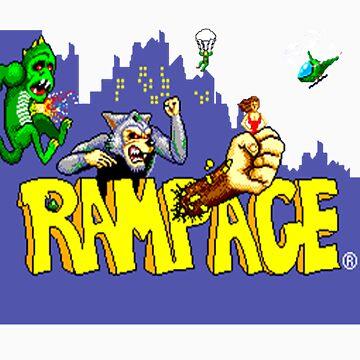 RAMPAGE by damdirtyapeuk