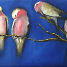 A BUNCH OF GALAHS by Wayne Dowsent