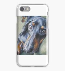Dachshund Fine Art Painting iPhone Case/Skin