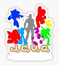J.C.V.G. Shirt 2010 Sticker