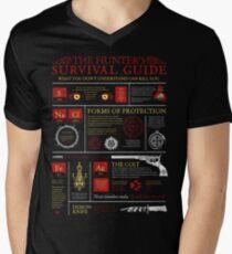 The Hunters Survival Guide Men's V-Neck T-Shirt