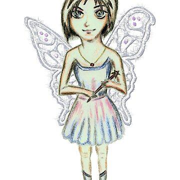 Plurissa the Posh Bob Fairy by TwilledWaves