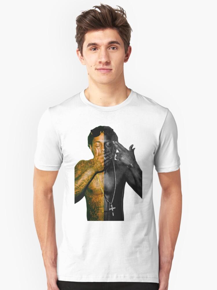 lil black Unisex T-Shirt Front