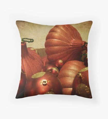 Ornaments II Throw Pillow