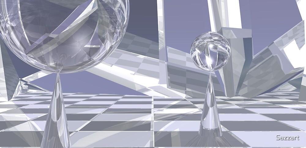 Reflecting on Left-Right Vanishing Points by Sazzart