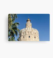 Sevilla - Torre del Oro Canvas Print