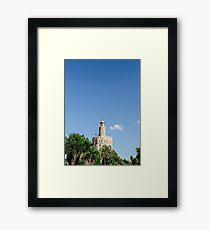 Sevilla - Torre del Oro Framed Print
