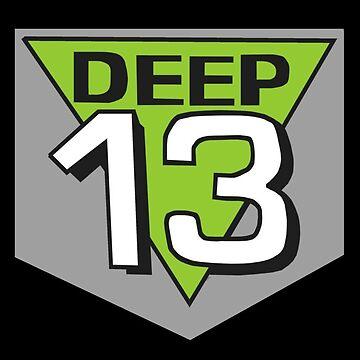 Deep 13 Badge by Bulwarky