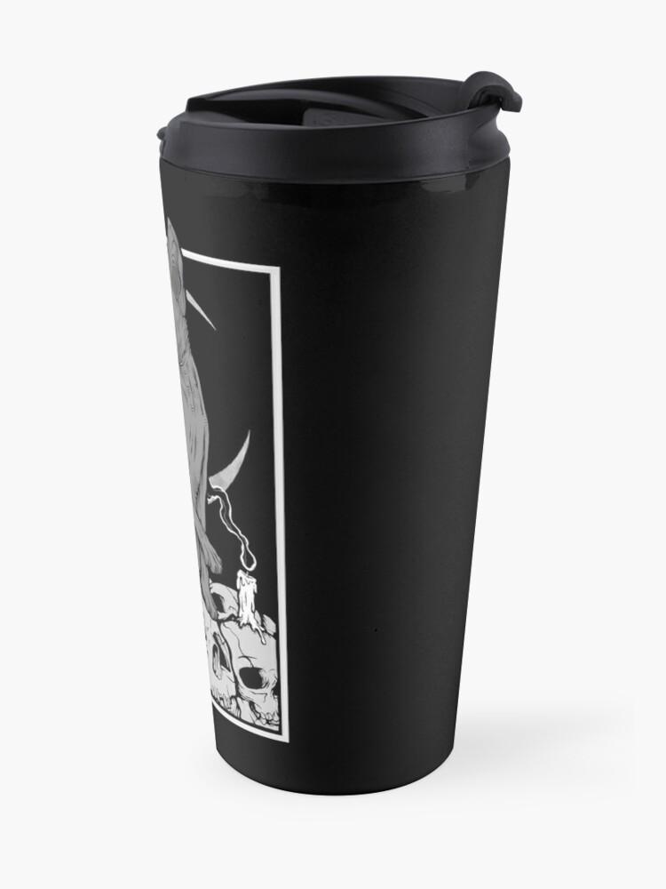Alternate view of Occult Cat Travel Mug