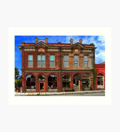 Redmens Hall - Jacksonville Oregon Art Print