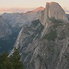 Half Dome Sunset by Susan Russell