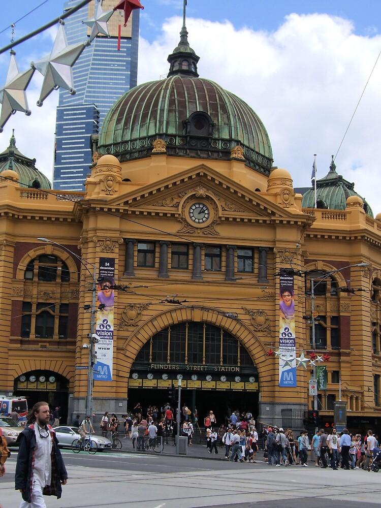 Flinders Street Station  by BreeDanielle