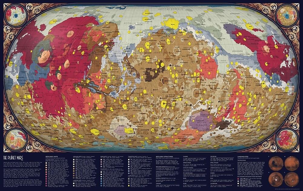 Geology of Mars by Eleanor Lutz