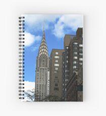 Chrysler Building Spiral Notebook