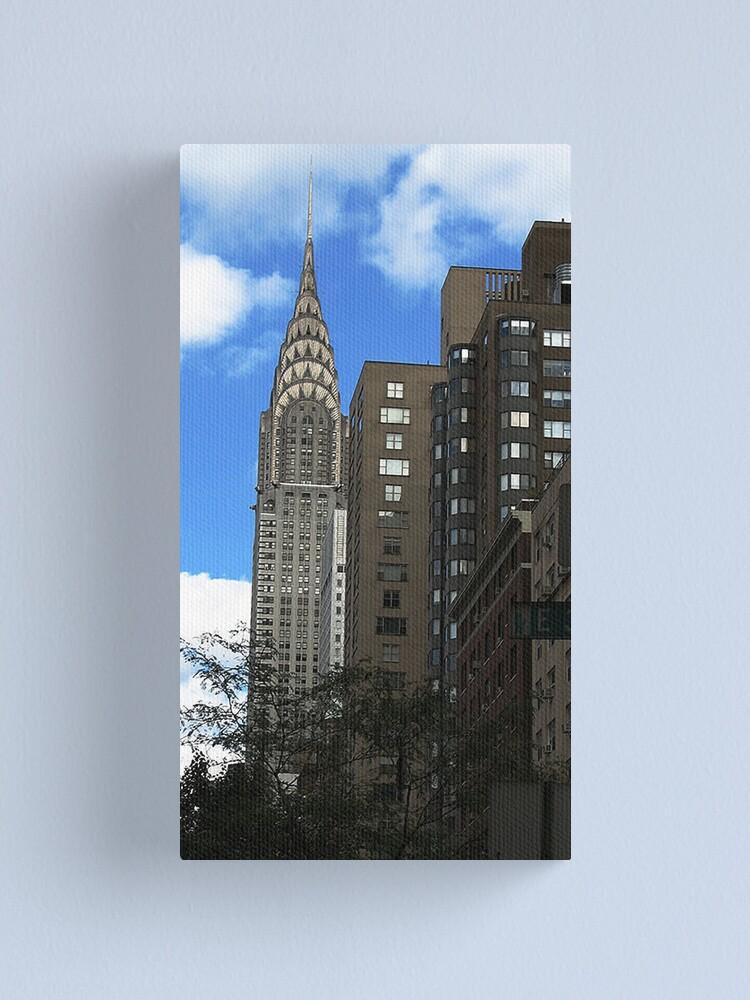 Alternate view of Chrysler Building Canvas Print