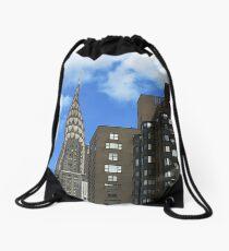 Chrysler Building Drawstring Bag