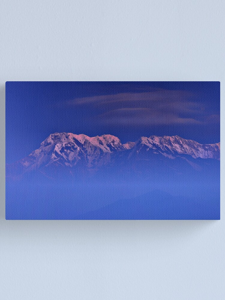 Alternate view of Annapurna One Canvas Print