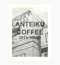 Lámina artística Café Anteiku