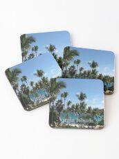 Virgin Islands Resort View Coasters