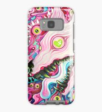 Glitterwolf Acrylic Painting Case/Skin for Samsung Galaxy