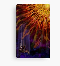 The Descent of Icarus Canvas Print