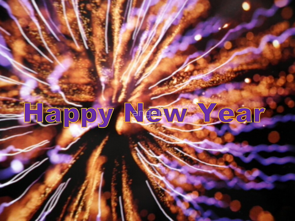 Happy New Year! featured in A Place to Start by ©The Creative  Minds
