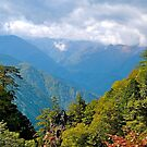 Japan Alps, Summer. by johnrf