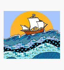 Sailing the High Seas Photographic Print