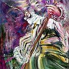 Felicity's Muse 36x48 by Faith Coddington Krucina
