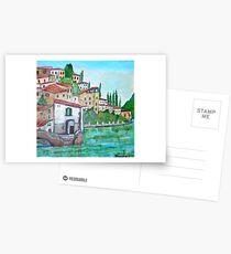 Nesso, Lake of Como Postcards