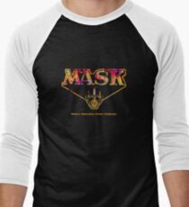 Mask Men's Baseball ¾ T-Shirt