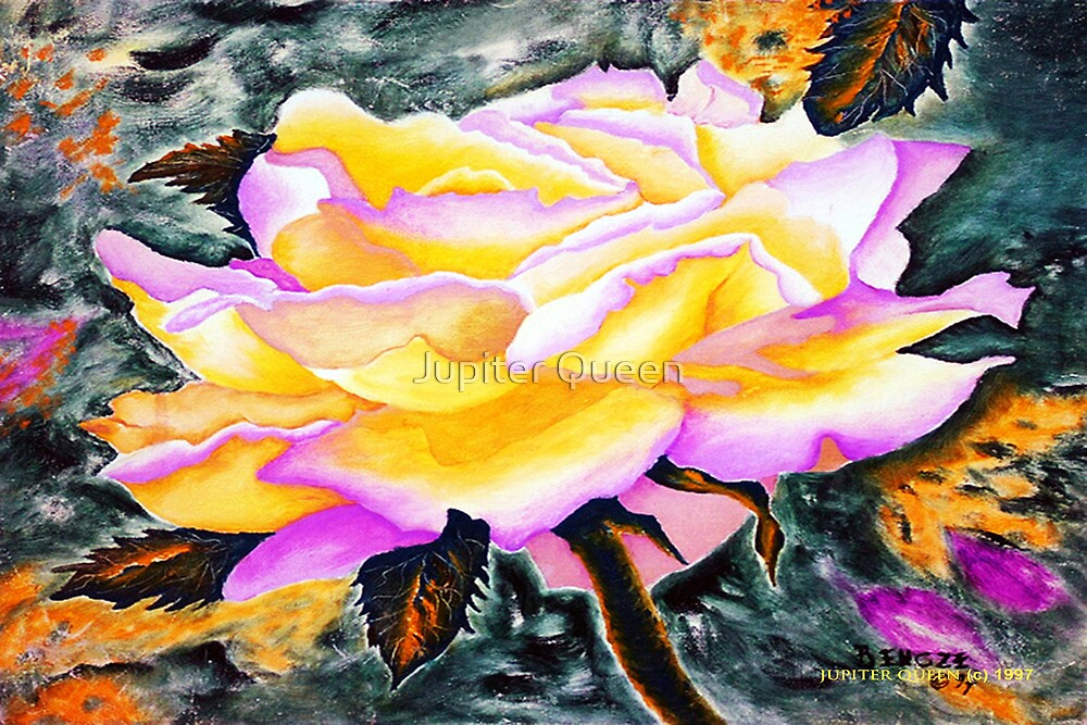 YELLOW ROSE # 2 by Jupiter Queen
