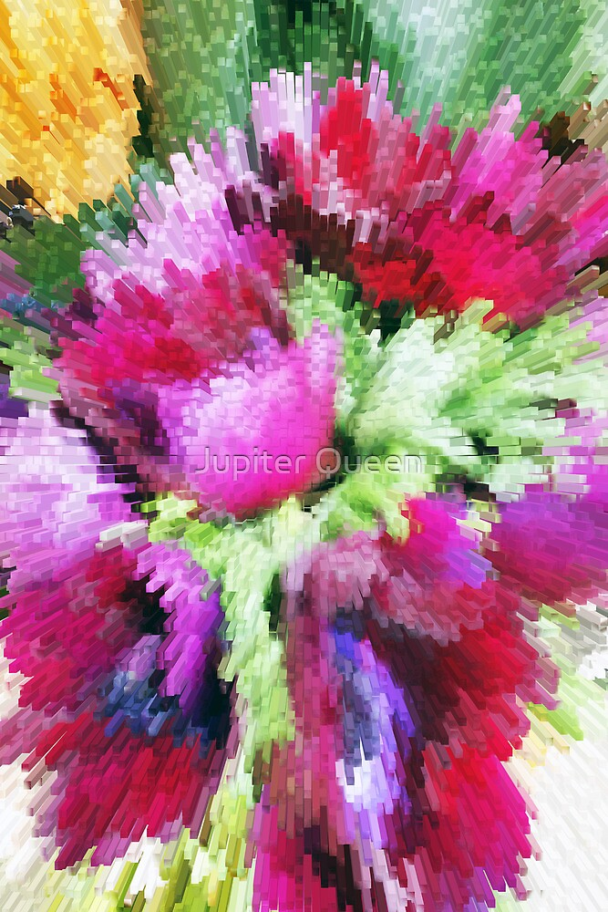 ABSTRACT FLOWERS by Jupiter Queen