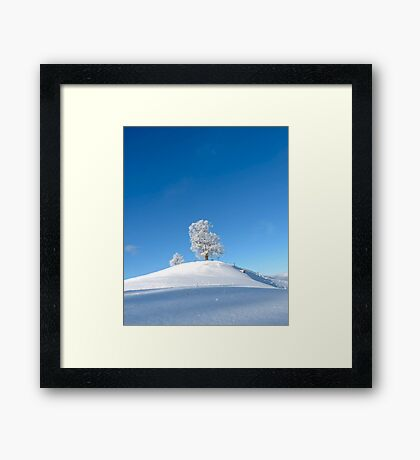 Against the Winter III Framed Print