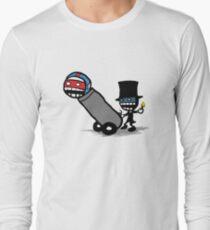 Comics Face Cannon Long Sleeve T-Shirt