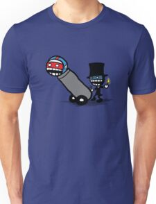 Comics Face Cannon T-Shirt
