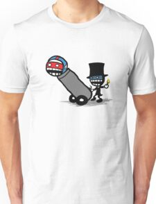 Comics Face Cannon T-Shirt